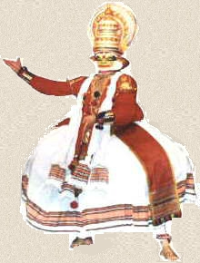 Kathakali - A dance form of Kerala.